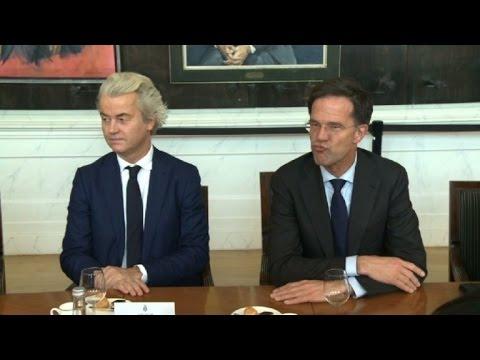 Europa calmada por triunfo de liberales en elecciones de Holanda
