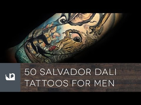 50 Salvador Dali Tattoos For Men