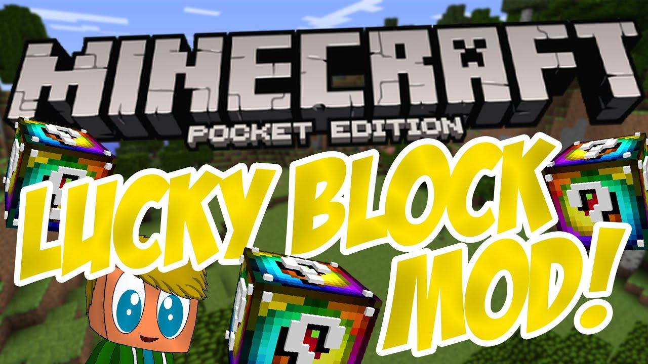 Minecraft Spielen Deutsch Minecraft Lucky Block Jetzt Spielen Bild - Minecraft pe jetzt spielen