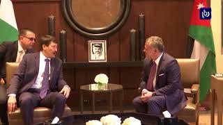 جلالة الملك والرئيس الهنغاري يجريان مباحثات في قصر الحسينية - (6-11-2017)