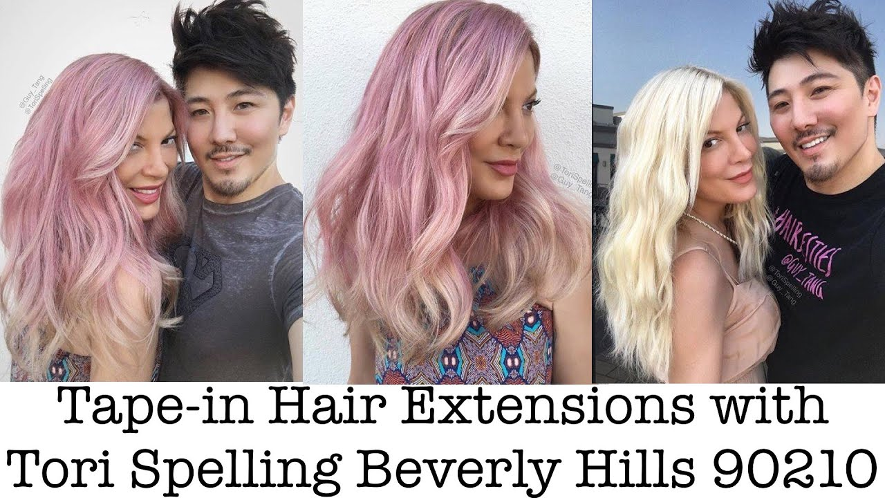 Tape in hair extensions with tori spelling beverly hills 90210 tape in hair extensions with tori spelling beverly hills 90210 youtube pmusecretfo Image collections