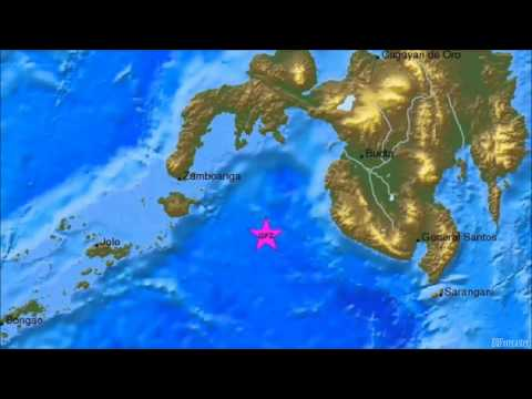 M 6.6 EARTHQUAKE - MORO GULF, MINDANAO, PHILIPPINES - Dec 2, 2014