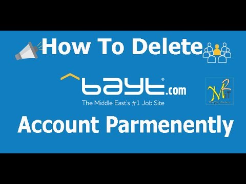 How To Delete Bayt Account Permanently , 1000% Working. - YouTube