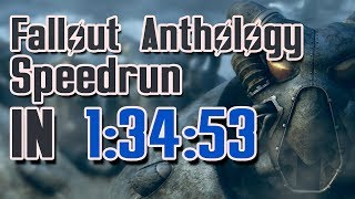 Fallout Anthology Speedrun in 1:34:53
