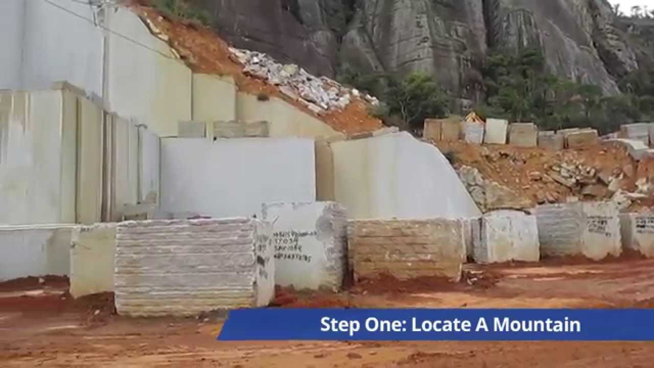 Where does granite come from in brazil youtube