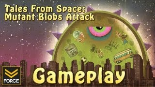 Tales From Space: Mutant Blobs Attack (Gameplay)