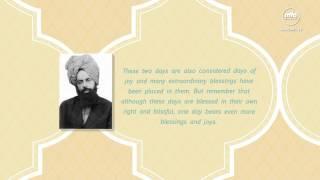 Eid-ul-Fitr Malfoozat: Immense Bliss & Blessings