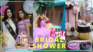 MY COUSIN'S BRIDAL SHOWER - PARUS WEDS BASEEM | YusrasLife