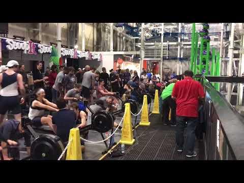 Canal Dock Indoor Rowing Relay 2017