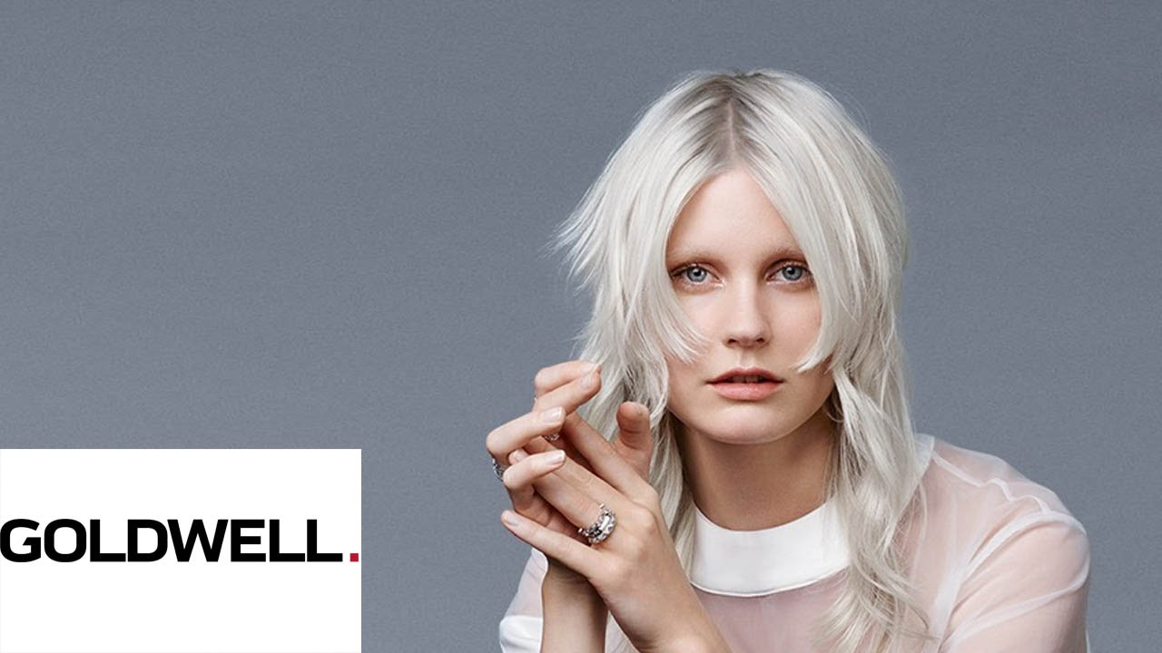 Cool Blonde Soft Shading Goldwell Youtube