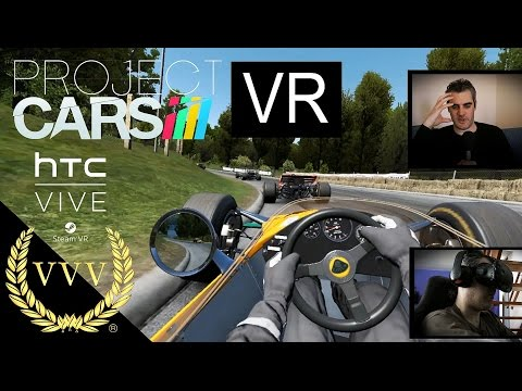 Project Cars VR on HTC Vive