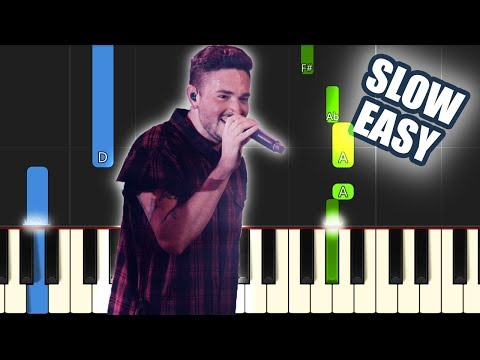 Sinking Deep - Hillsong Young And Free | SLOW EASY PIANO TUTORIAL By Betacustic