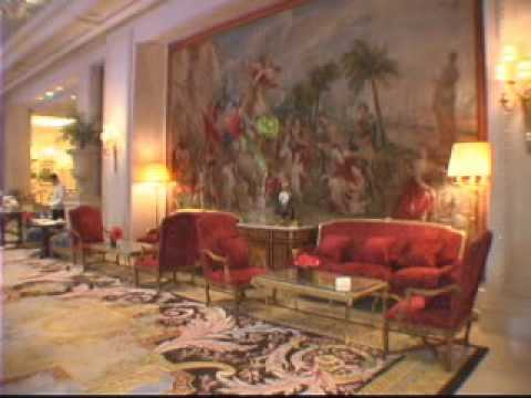 The four seasons george v paris france youtube for Hotel george v jardins