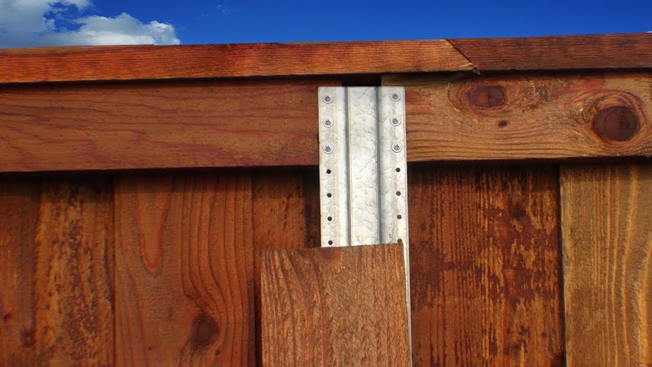 Metal post for wood fence - Postmaster Installation Full Video 6 Privacy Fence