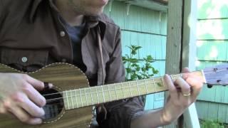 The Cowboy Waltz- Fingerstyle Baritone Ukulele