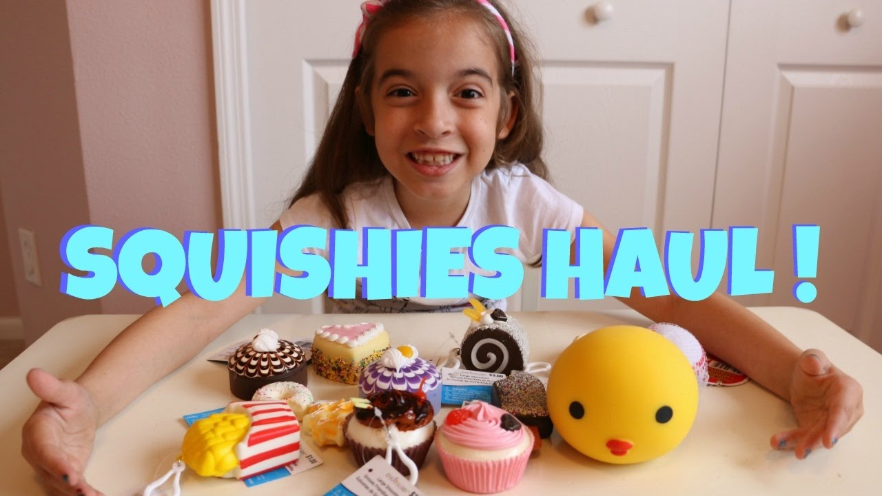 Squishy Haul From Michaels : NEW SQUISHIES At Michael s! SQUISHIES HAUL! - YouTube