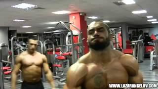 Lazar Angelov Shoulders Workout