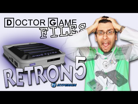 Doctor Game FILES: RETRON 5