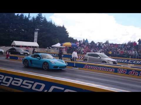 Porsche Cayman 718 vs Astra Turbo | Agosto 2017 Interclubes Mx
