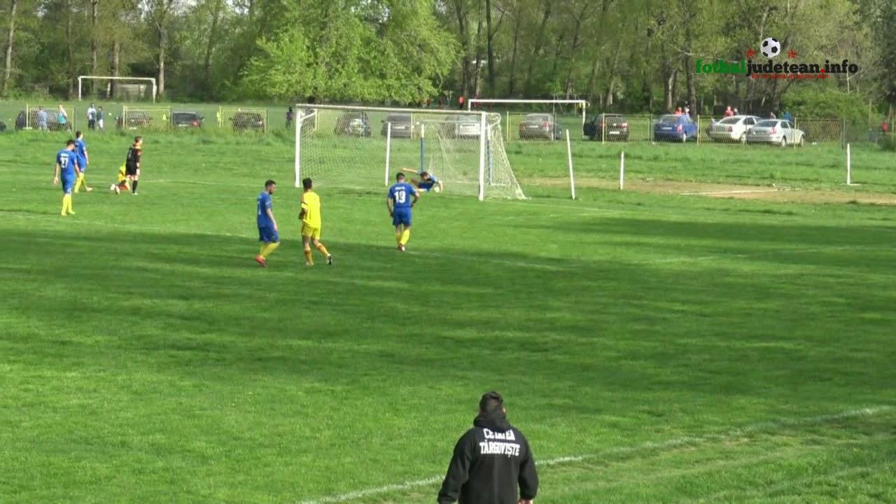 Download VIDEO. Rezumatul meciului Cetatea Targoviste-Vointa Pietrosita. Gol spectaculos marcat de