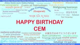 Cem   Languages Idiomas - Happy Birthday