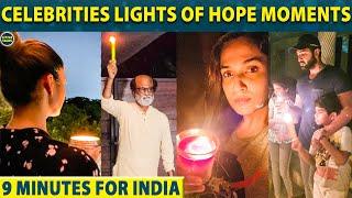 Rajinikanth & Nayanthara's Lights of hope Moments | 9 Minutes for India - 05-04-2020 Tamil Cinema News