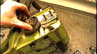 HOW TO Remove Clutch & Sprocket on Poulan 2150 Chainsaw
