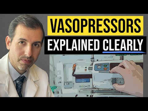 Vasopressors Explained Clearly: