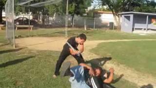 bHw Backyard Wrestling PR  3 Way Dance part 1 (Puerto Rico)