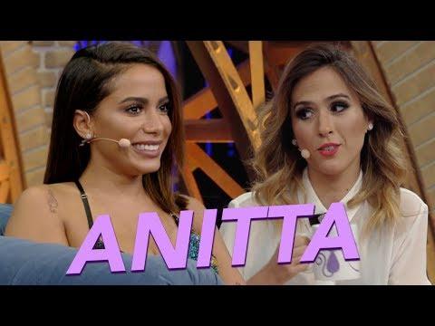 Anitta e Tatá Werneck se divertem com REVELAÇÕES inusitadas  Esquenta Lady Night  Humor Multishow