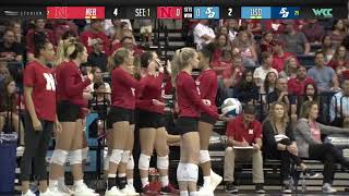 WCC Volleyball | Nebraska at San Diego | September 7, 2019