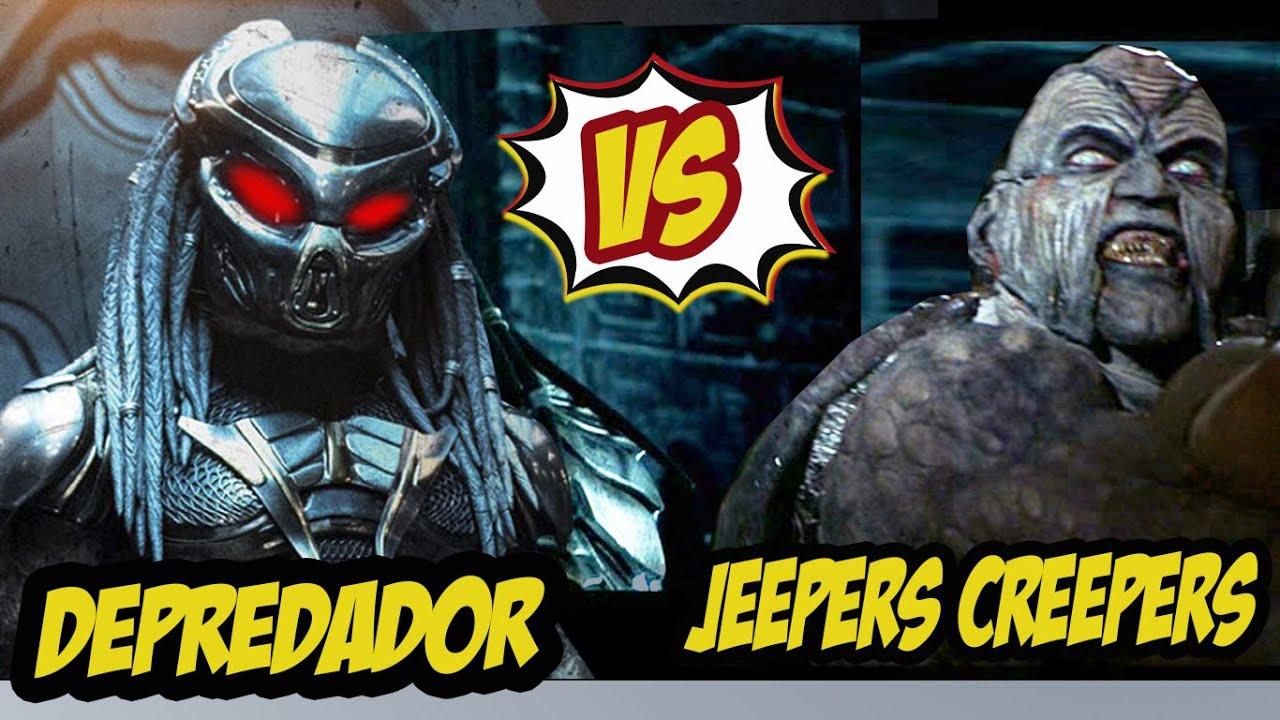 Depredador  VS Jeepers Creepeers  / crossover ( Primera parte )