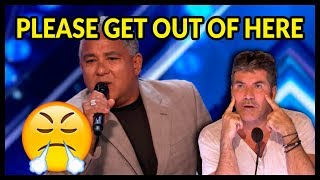 "Top 5 ""When Acts WON'T LEAVE"" on Got Talent World!"