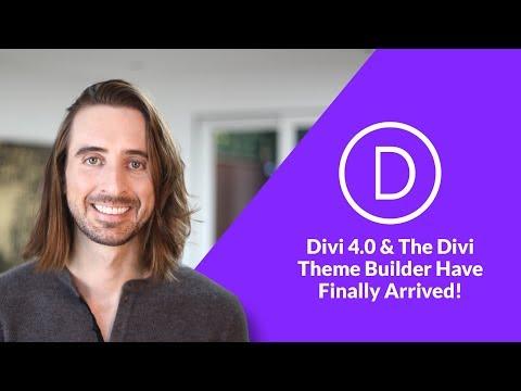 Divi 4.0 & The Divi Theme Builder Have Finally Arrived!