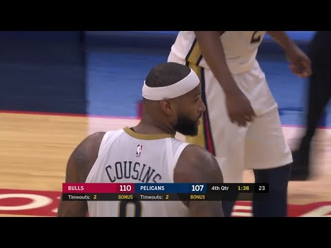 4th Quarter, One Box Video: New Orleans Pelicans vs. Chicago Bulls