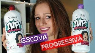 Como Fazer Progressiva em Casa | G. Hair Zup Help Progress da Inoar