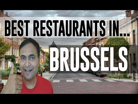 Best Restaurants & Places To Eat In Brussels, Belgium