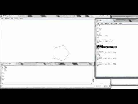 【MSW-LOGOの使い方】一瞬で描ける!【ゆっくり版4分の1倍速】