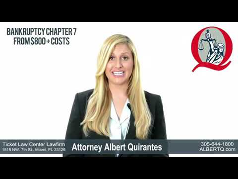 Chapter 7 Personal Bankruptcy Lawyer in Miami • Bankruptcy Attorney Albert Quirantes • Clear  Debts