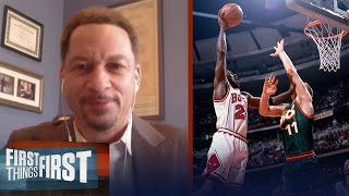 Michael Jordan would average 40+ PPG in today's NBA — Chris Broussard | NBA | FIRST THINGS FIRST