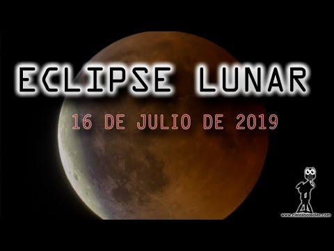 ECLIPSE PARCIAL DE LUNA del 16 de julio de 2019