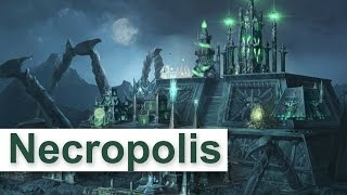 Heroes of Might and Magic 7 - NECROPOLIS Faction Gameplay [1080p/HD]