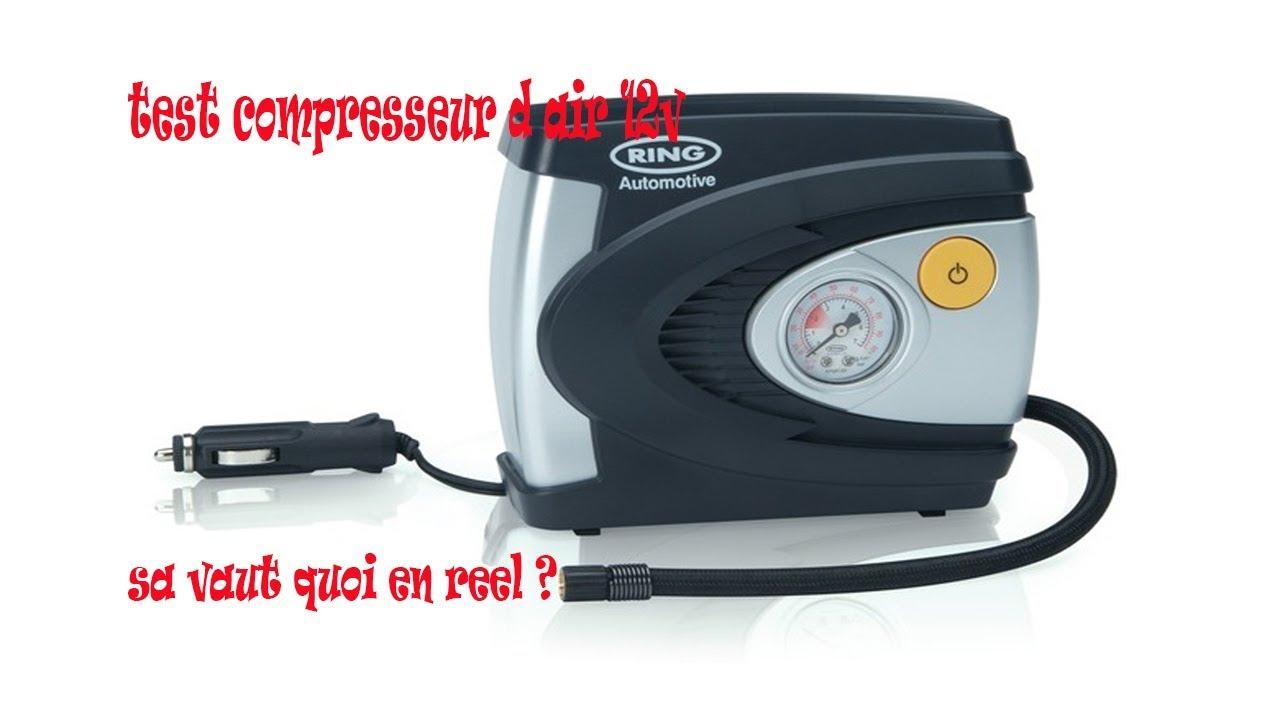 Ring RAC620 12v Pneu Voiture Vélo Gonfleur Compresseur Air Pompe Électrique