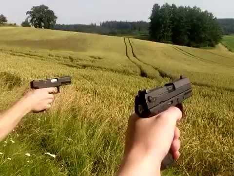 Zoraki 917 Und Walther Pk 380 In Action D Youtube