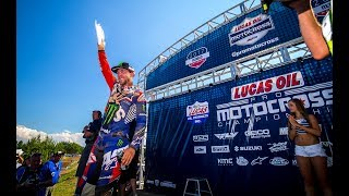 Check out a unique look of the 2017 RedBud National from Buchanan, ...