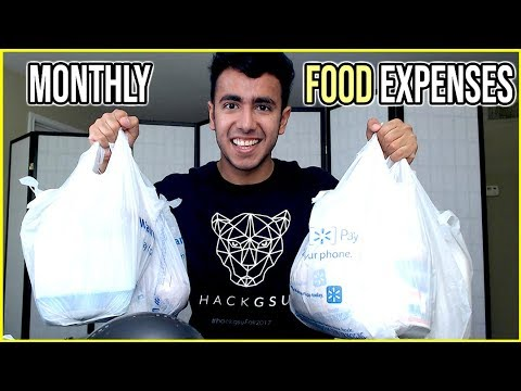Walmart Grocery Price in USA | Healthy Diet | Monthly Food Expenses?