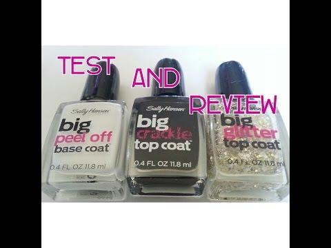 Sally Henson's Big Polish Test and Review