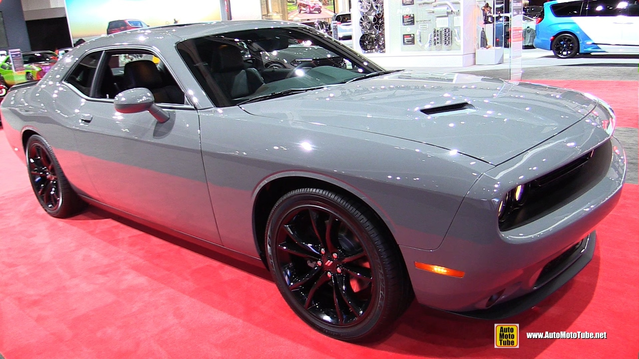 2017 Dodge Challenger Exterior And Interior Walkaround 2016 La Auto Show You