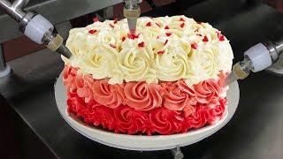 Robotic Cake Making Machines AWESOME FOOD PROCESSING