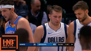 Oklahoma City Thunder vs Dallas Mavericks - 1st Half Highlights | October 14, 2019 NBA Preseason